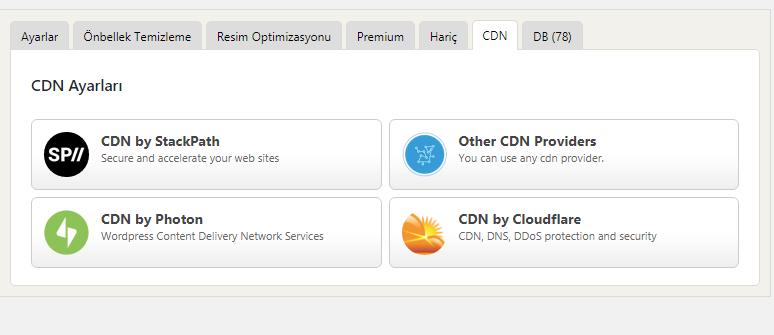 Cache eklentisi ve CloudFlare bağlantısı - Google PageSpeed ve GTmetrix Puanı Yükseltme