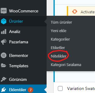 wordpress nitelik ekleme